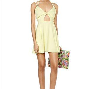 Nasty Gal Yellow Outshine Dress
